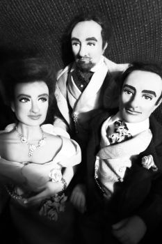 Group Shot #1 of Dorian Gray character dolls by R-Marie