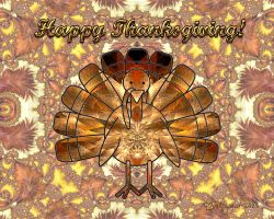 Happy Fractal Thanksgiving!! by wolfepaw
