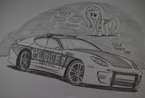 Officer Fluttershy by Ricky47