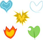Element Heart Cutie Marks (closed) by demonreapergirl