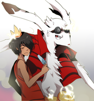 AT: King Kazuma by chewypickles