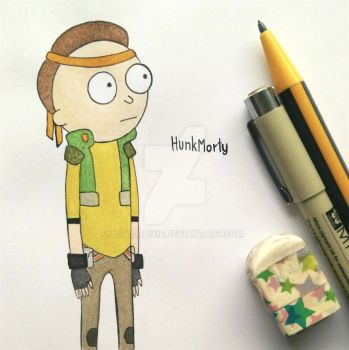 Hunk Morty by ColorPixie