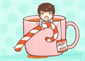 infinitea: peppermint sungyeol by Yutong
