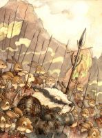 Army of Salamandastron by Finding-Redwall