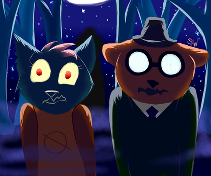 Someone is watching... - NITW (SPOILER?) by SeamairWolf