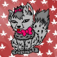Requested Cute Wolf by Netti-Chan15draw