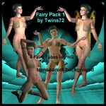 Stock Fairy Pack 1 by Twins72