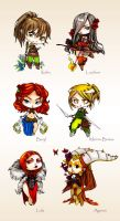 Chibis de Nowel (part1) by LaDameDePique