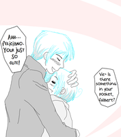 What's in your pocket Gilbert? by Narukokun