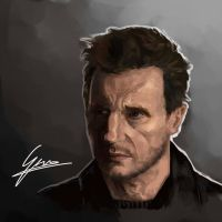 Contest entry: Liam Neeson by SAM---tan