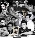 Elvis Collage2 by FreakyComics