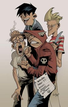 PiRate CluB pin-up by RyanOttley