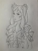 Panne Sketch- Fire Emblem Request by KagomeKirigiri