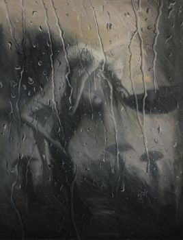 Life is a Dance in The Rain - oil painting by borda