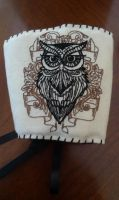 Embroidered Owl by torilou