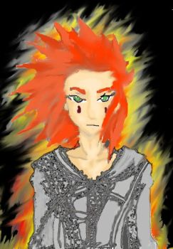 Axel Fire's Acolyte by SpidaBoy