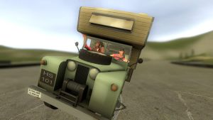 gmod - Scout's driving lesson by Stormbadger