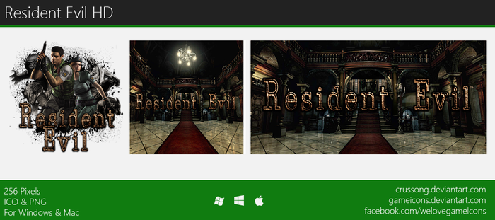 Resident Evil HD - Icon by Crussong
