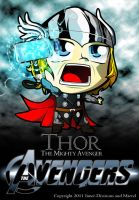 Chibi Thor by Inner-DiVisions