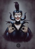OH Maleficent by Za-Leep-Per