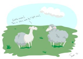 mama sheep does not approve by listaspiran