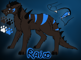 [CE] Ravos Ref Sheet by DarkNymfa