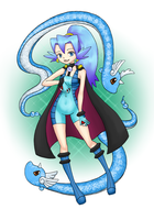 Clair and Dragonair by Sliv-Pie