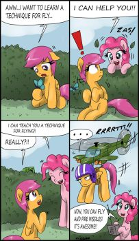 Flying lessons 2 by CIRILIKO