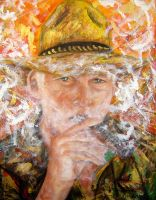 The Man and his Cigar by amoxes