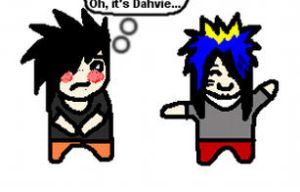 Hey Dahvie.. by youdonegoofed