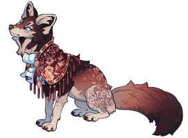 Dapper Wine Fox OTA by aspeneyes