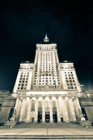 Palace of Culture and Science by mkev
