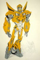 Transformers Prime: Bumblebee by InkArtWriter