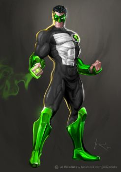 GREEN LANTERN by jrivadulla