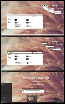 Hover Aero Theme For Windows10 RTM by Cleodesktop