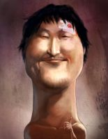 Portrait of Mr. Vengeance by HOON