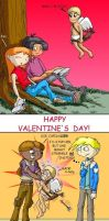 3 reactions to Valentine's Day by mpcp13