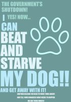 Now I Can Starve My Dog: US Shutdown by TheAspiringWriter