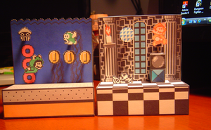 SMB3 Fortress + Water Dioramas by Name-Mentalcase