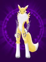 Renamon by VulpineFlame