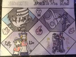 Death The Kid, Liz, and Patty by 8888DeathTheKid