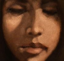 Always Thinking (Detail) by DeLumine
