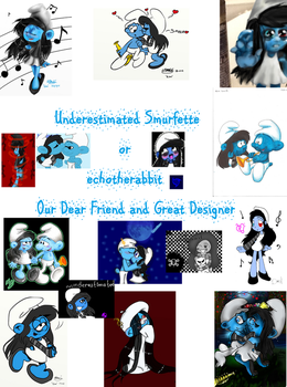 For our dear echotherabbit by MyFanFictionPicture