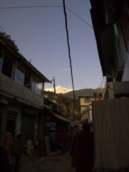 The magnificent Dhauladhar: view from Bhagsu Rd by spacejunior