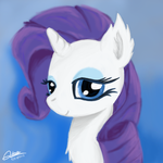 Miss Rarity by MrAsianhappydude