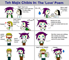 The 'Love' Poem by Majix101