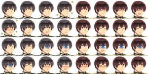 Japan and 2P!Japan Faceset -RPG Maker- by adricarra