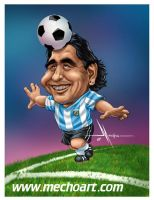 MARADONA by Mecho