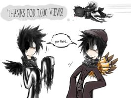 yay 7,000 views by ArtistsBlood