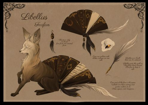Libellus reference by busbyart
